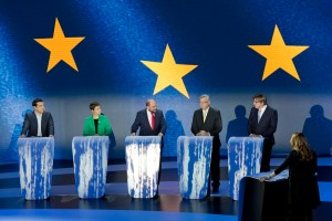 EE2014 - Eurovision debate between candidates for the Presidency of the European Commission