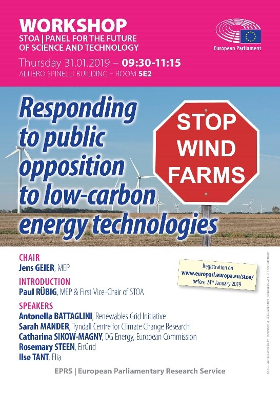 Why are people opposed to low-carbon energy technologies?