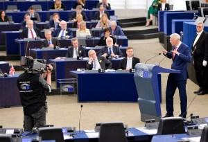 Plenary session - Debate with Arturs Krisjanis KARINS - Latvian Prime Minister on the future of Europe