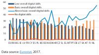 Digital skills (%)