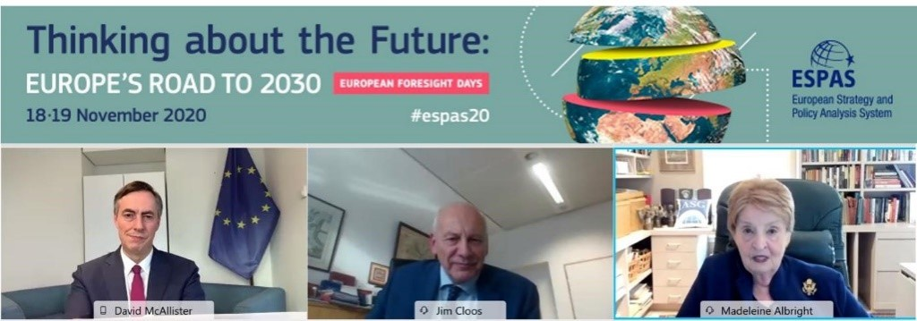 2020 ESPAS Conference – Thinking about the Future: Europe's Road to 2030