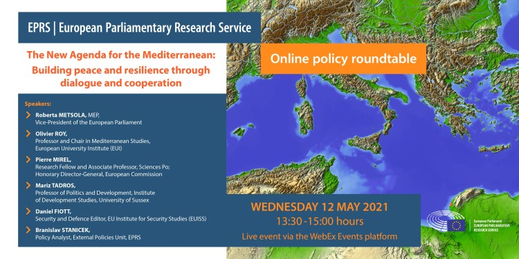 The new agenda for the Mediterranean: Building peace and resilience through dialogue and cooperation