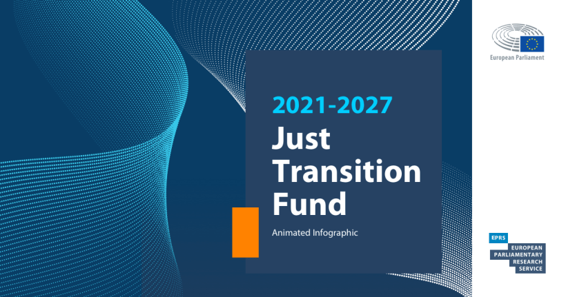 Just Transition Fund: Animated infographic