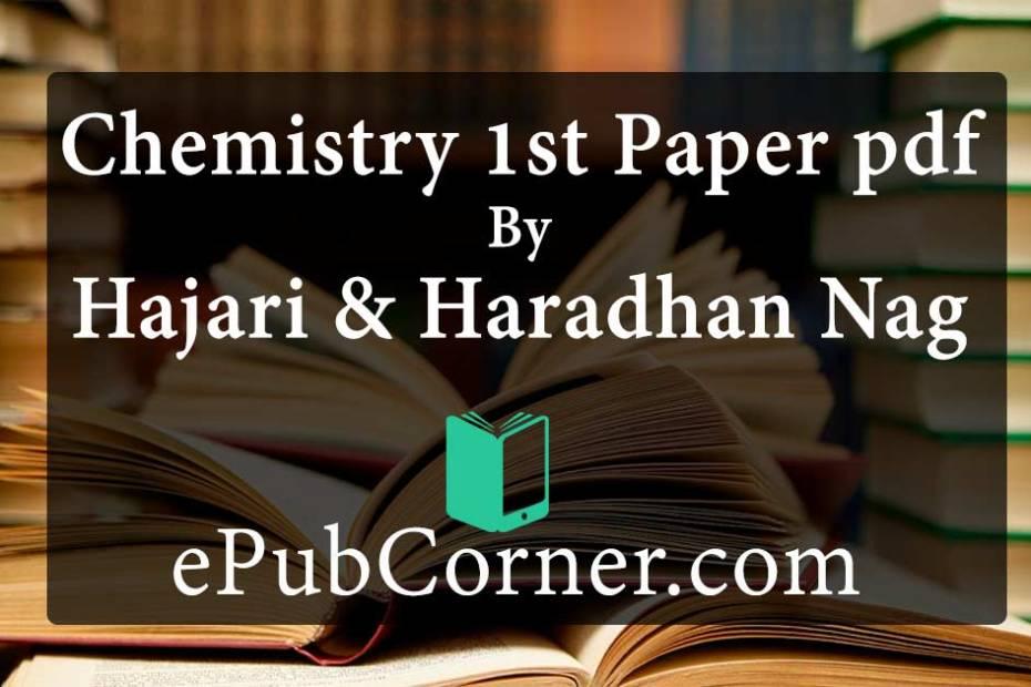 Chemistry 1st Paper pdf