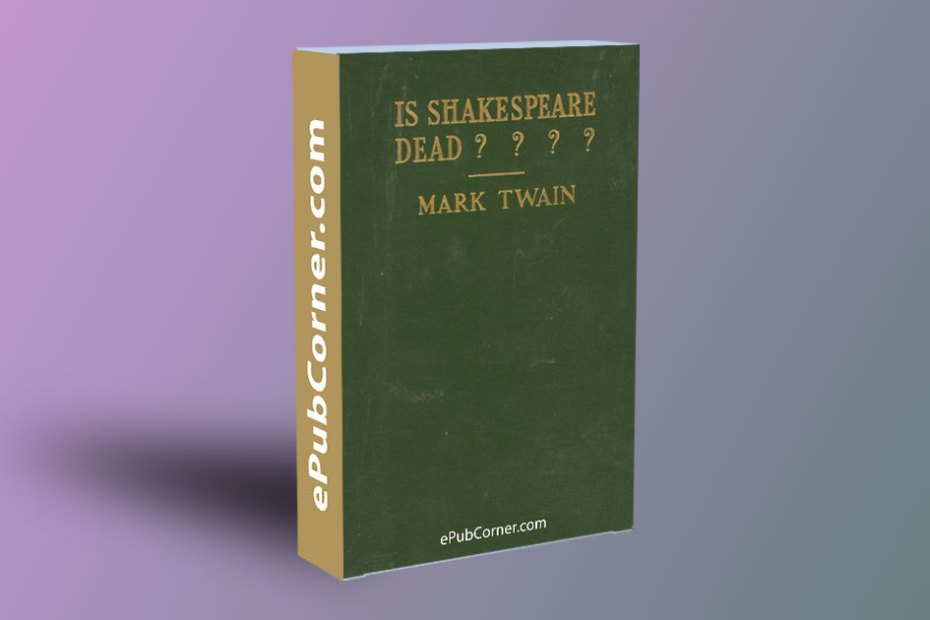 Is Shakespeare Dead? ePub download free