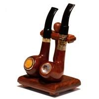 Solid Sandal Wood Dual ePipe | Universal E-Pipe Display ...