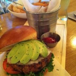 3 Grain Burger @ Steve-o's