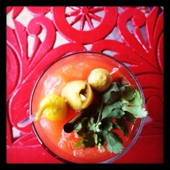 Bloody Mary at Hope & Anchor. Best Bar Atmosphere, Best Happy Hour, Best Hotspot, Best Tasting Mixed Drinks, & Hottest Staff