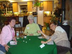 Barb Ellis, Wilma Hamilton, DJ Johnson