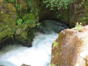 Gorge at Toketee Falls