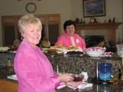 Barbara Schmaltz and Trisha Dunlap