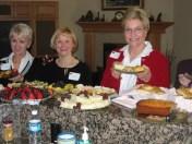 Brigitte Lemmerman, Carol Johnston, & Sally Plummer