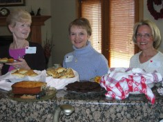 Joanie Doss, Gerene Leffinwell and Shirley Trimbol