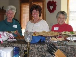 Jan Griffin, Barb Ellis, and Jackie Gottinger