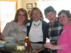 Gayle Schanck, Carolyn Hein, Carolyn Steiber & Trisha Dunlap