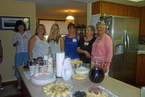 Terry Sheldon, Brenda & Shannon Cloney, Annette Foster, Ida Tolmie and Maxine Williams