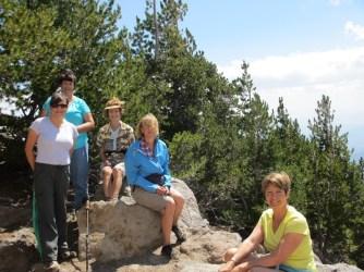Susan, Nancy, Linda, Martha & Kay