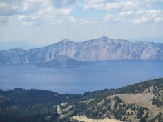 Crater Lake from Mt. Scott summit