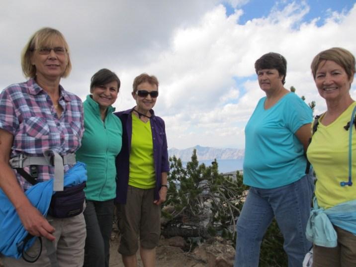 Martha, Susan, Gerene, Nancy & Kay