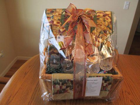 Wine Picnic Basket -- D-9 Donation