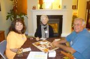 Debbie Tossie, Vickie King and Lew Devlin
