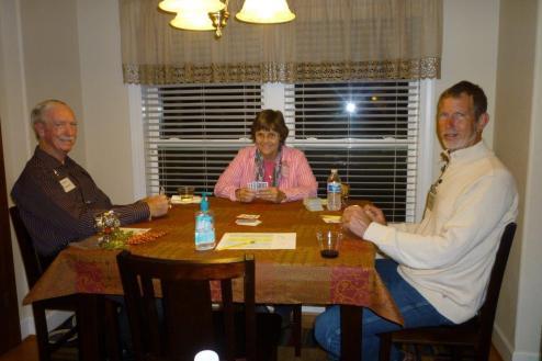 Herb Swain, Joan Devlin and Doug Lystra