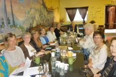 Martha Roy, Lori Peterson, Sue Tschol, Marty Hunt, Joan Devlin, Melody O'Brien, Phyllis Fletcher, Betty Clement and Kristine Frey