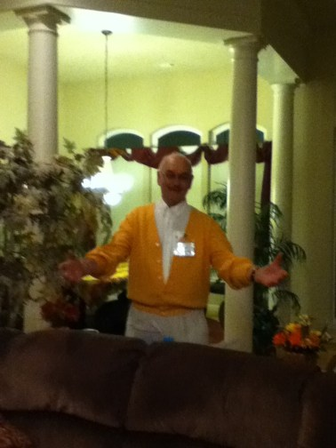 Bob McIntyre was the biggest loser at the Nickelson's.