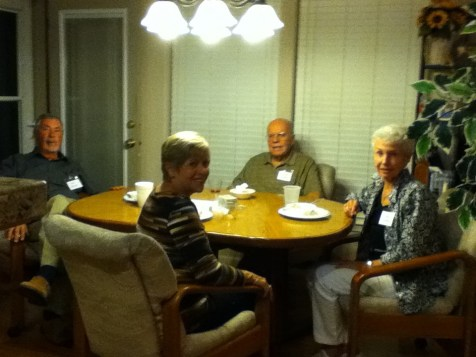 Jim & Shirley Brick with Griff and Jan Griffin