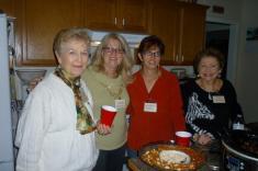 Marcia McIntyre, Gayle Schanck, Annette Foster and Ida Tolmie