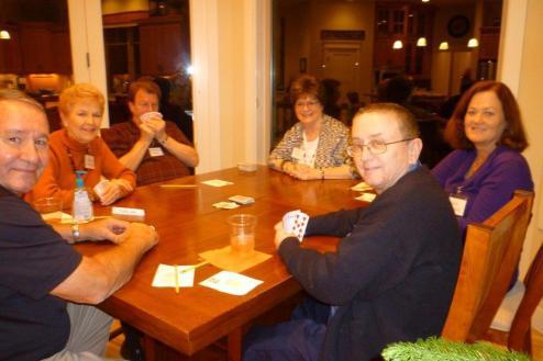 Steve Schanck, Marcia McIntyre, Wolfgang Hase, Lynn Tally, Kris Howard & Dann Houghton
