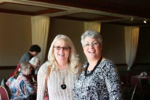 Maxine Willimas and Gayle Schanck