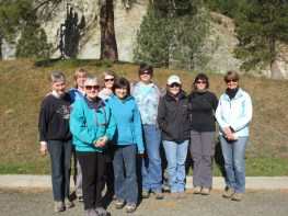 Joan K., Martha, Renate, Elaine, Susan, Nancy, Joan D., Margo, & Kay