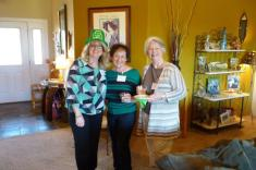Gayle Schanck, Ann Grossman and Vickie King
