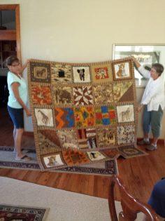 Lydia's quilt