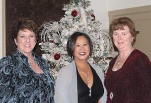 Joyce Todd, Aleli Lawson & Betsy Hase