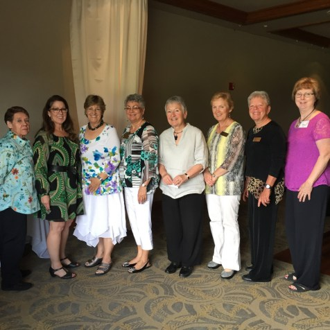 The 2016-2017 Board of Directors for the Eagle Point Women's Club.