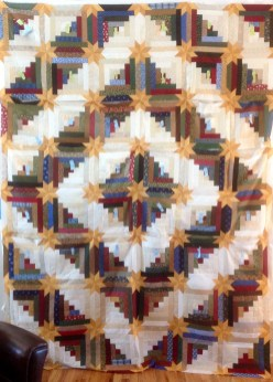 Colorado Log Cabin Star Quilt