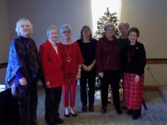 Ginny Newell, Marcia McIntyre, Wilma Hamilton, Melva Huffman, Lynn baker, Joan Clark and Ida Tolmie