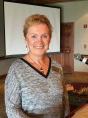 Board President, Annette Godfrey