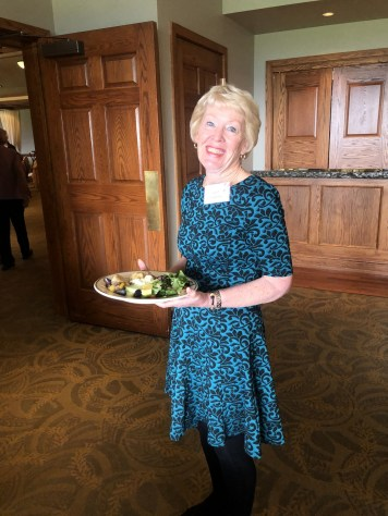 A surprise visit by Janet Siedlecki, past president of EPWC