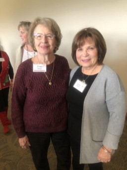 Fran Morgan and Susan Roach