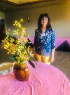 Peggy Dover, luncheon speaker