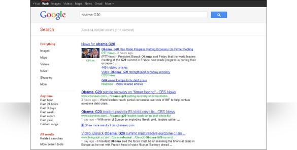 Freshness Update - Obama G20
