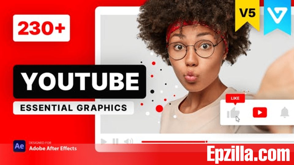 Videohive – YouTube Essential Library V5 21601793