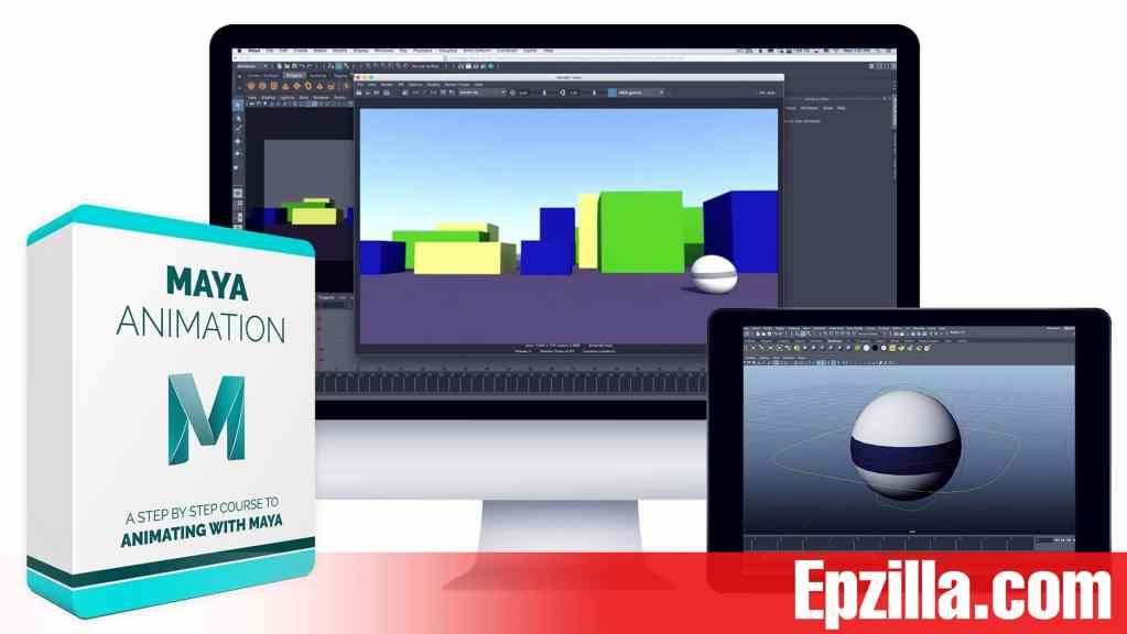 Bloop Animation – Maya Animation