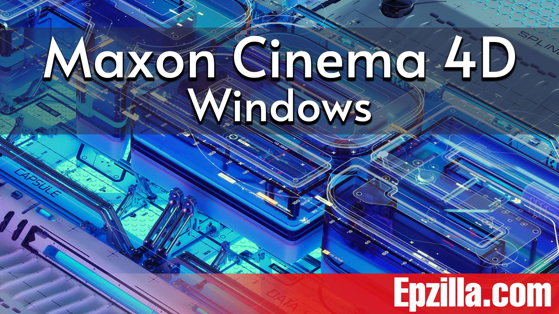 Maxon Cinema 4D Studio R25.110 For Windows Free Download Epzilla.com