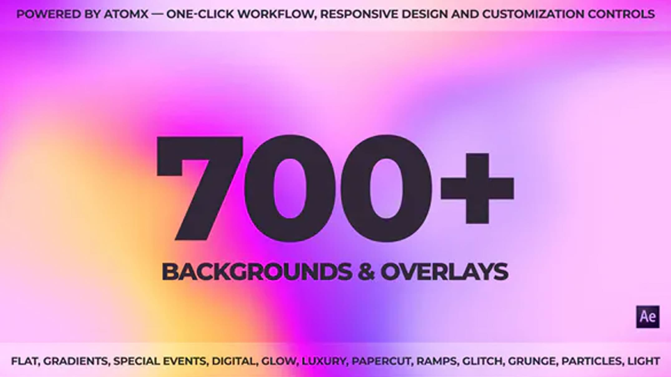 Videohive AtomX Backgrounds Pack 32623942 Free Download Epzilla.com