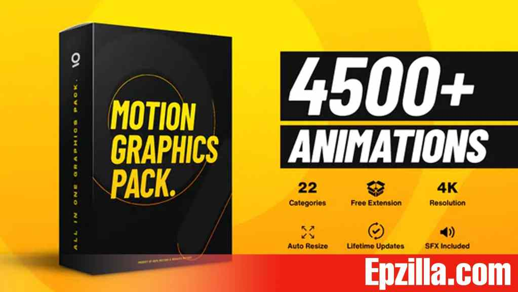 Videohive – AtomX 4500+ Graphics Pack 25010010