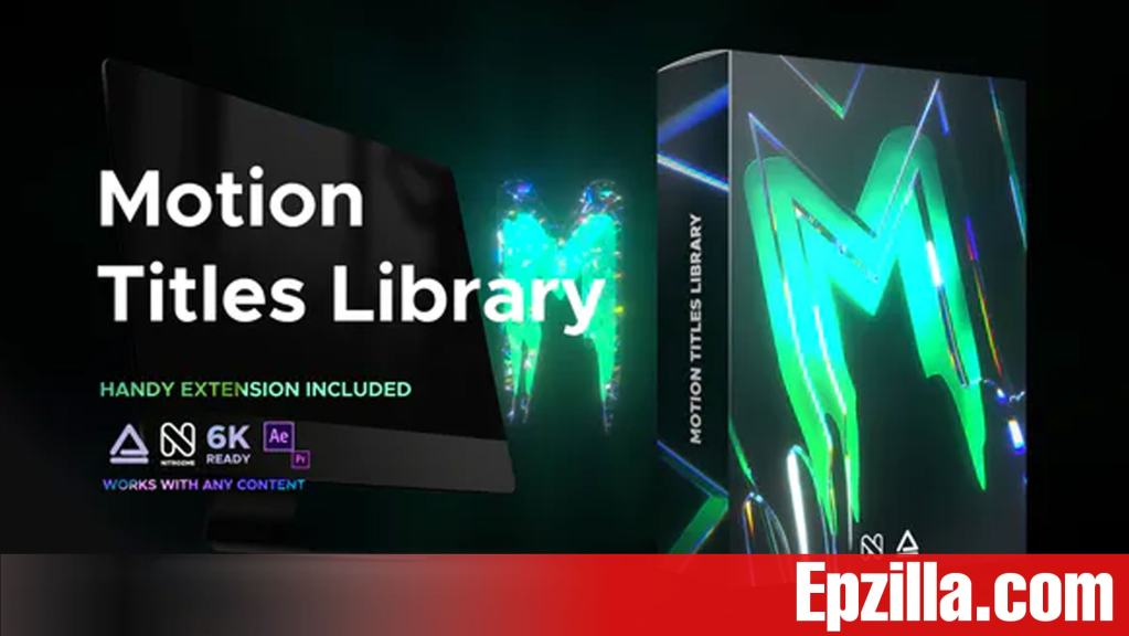 Videohive – Motion Titles Library – Animated Text Package 33708192
